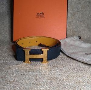 Hermès Constance Reversible Belt